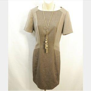 Antonio Melani Brown/Tan Dress